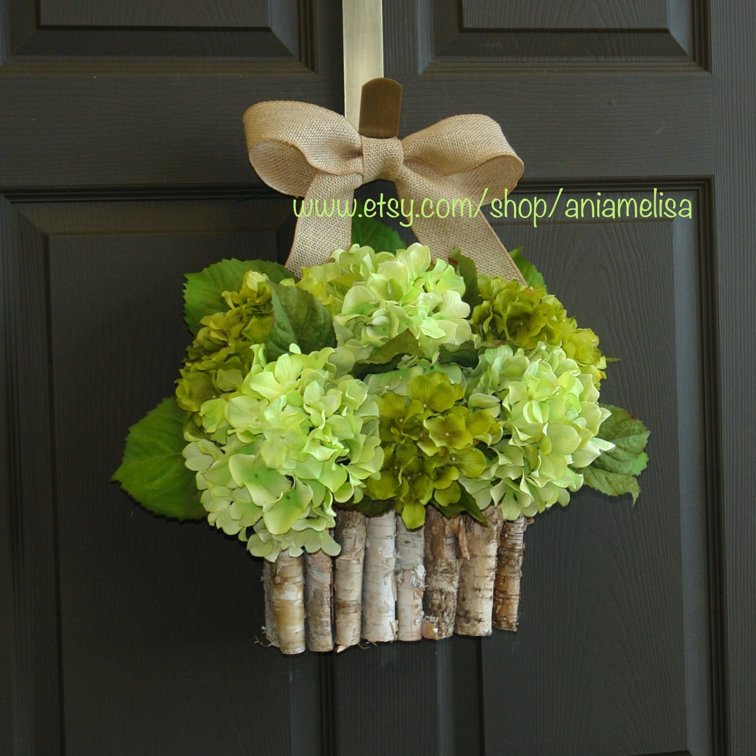 Spring Wreath For Front Door Country Decorations By Aniamelisa