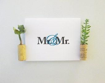 Mr. & Mr. - Marriage Equality Wedding Card
