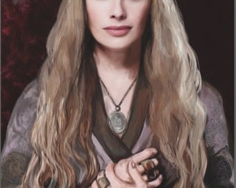 Cersei Lannister Limited Edition Print