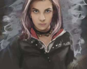 Tonks (Harry Potter) Limited Edition Print