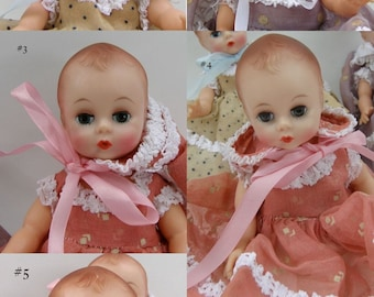 1964 RARE Fischer Quints LITTLE GENIUS Madame Alexander NM_sold individually, excellent  condition