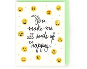 Emoji Happy Card