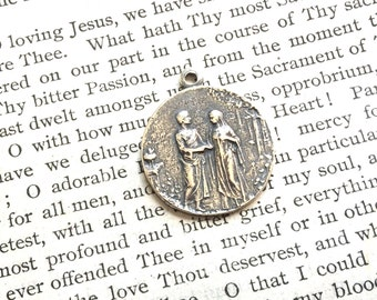 Eden - Marriage Medal - Bronze or Sterling Silver - Vintage Medal Replica - Made in the USA (M85-953)