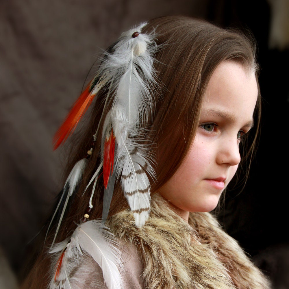 Native American Feather Hair Extension Daughter Of The by ...