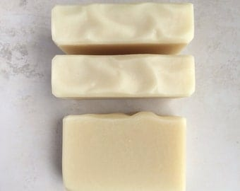 Baby Butter Bar - Pure Gentle Soap Bar -  Unscented, Uncoloured Baby Soap, Moisturizing - Natural Cold Process Soap, Shea and Cocoa Butter