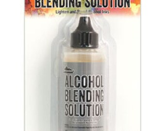 2oz alcohol blending solution by Tim Holtz specially formulated to dilute and lighten Alcohol Inks' vibrant tones