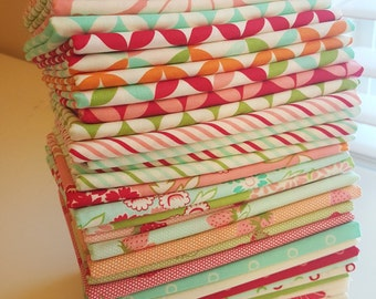 Moda Hello Darling Prints Fat Quarter Bundle - ENTIRE COLLECTION - 40 FQs (10 yards total)