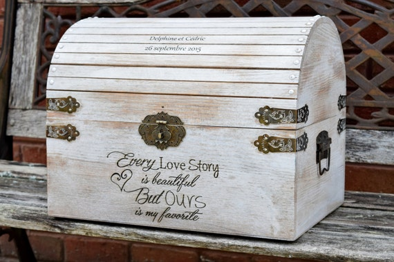 Extra Large Wedding Gift Box : extra large 17x14x13 distressed card box rustic wedding decor wedding ...