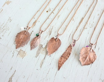 Real leaf necklace, Botanical jewelry, Leaf pendant, gift under 25, Forest Girl, Leaf jewelry, for woman, Bridesmaids Gift
