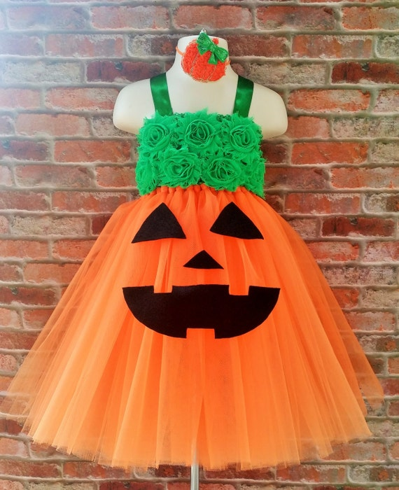 pumpkin pie tutu dress fall outfit costume halloween. Black Bedroom Furniture Sets. Home Design Ideas