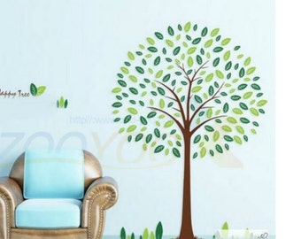 Nursey Tree Wall Decal - Wall Vinyl For Babies Room