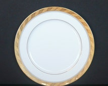 6 piece Sango Imperial Deluxe Salad Plate Set in CLEOPATRA© / Gold Trim / Made in Japan / Kitchen and Dining / Serving