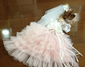 Dog Wedding Dress Etsy