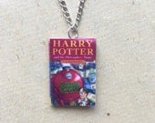 Harry Potter and the Philosopher's Stone Miniature Book Necklace