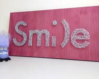 STRING ART - SMILE