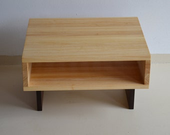 MODERN Handmade Wooden Coffee Table italian Furniture Contemporary