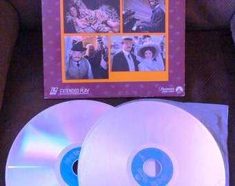 "Laser Disc for the movie  ""RAGTIME""  1981 film - James Cagney, Pat O'Brien, Samuel L. Jackson"