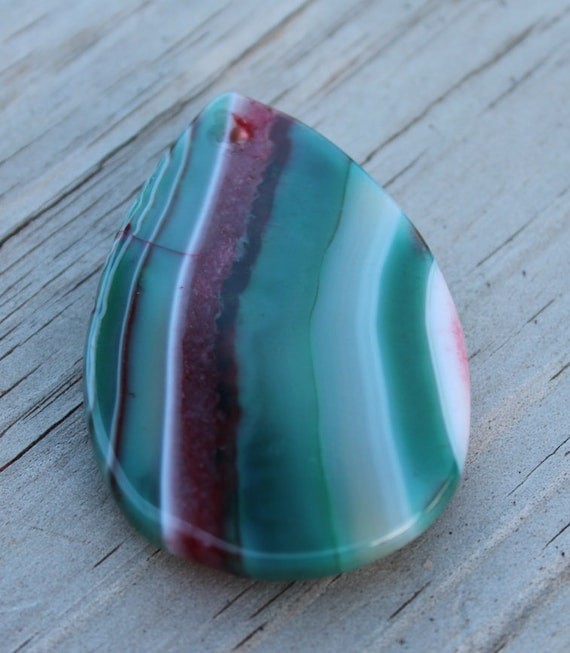 What Color Is Onyx Gemstone : Mm multi color stripes onyx agate gemstone