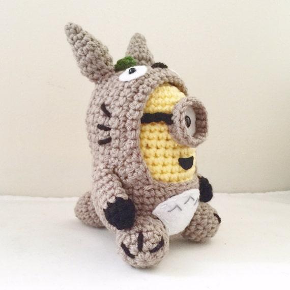 Amigurumi Ninja Turtles Pattern : Totoro Minion PDF Pattern Crochet for Amigurumi Doll Plush