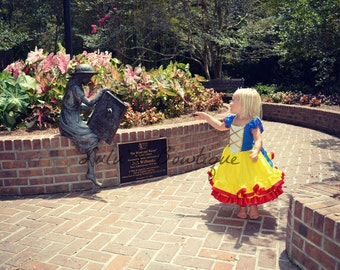 Inspired by Snow White Dress, Inspired by Snow White Birthday Dress, Inspired Snow White Halloween Costume, Inspired Snow White dress up