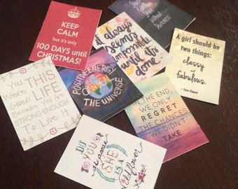 Erin Condren Grab Bag Motivational Stickers