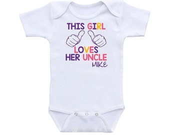 Uncle onesie etsy personalized gift uncle gift onesie uncle baby onesie uncle onesie bodysuit baby name custom negle Choice Image