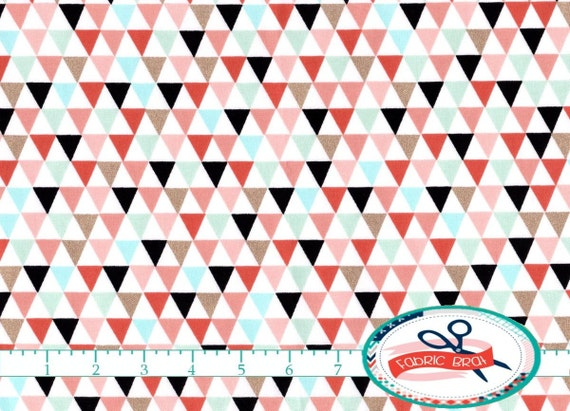 Geometric Quilting Fabric Geometric Quilting Fabric