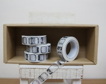 Washi Tape - madison jar print - P45