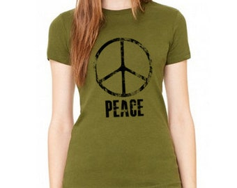 Peace T-Shirt for Ladies, Peace Tee Shirt