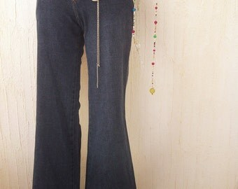 Vintage jeans-vintage clothes-retro clothing-vintage retro-bell bottom jeans-vintage bell bottoms-flared jeans-flared pants-boho-hippie