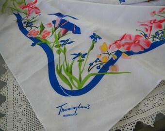 Trimmingham's Bermuda Souvenir Scarf