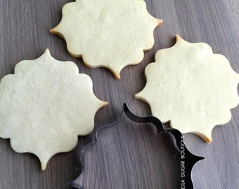 French Plaque Cookie Cutter -A16