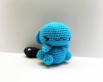 Crochet Wobbuffet Inspired Chibi Pokemon