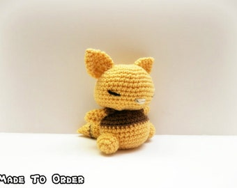 Crochet Abra Inspired Chibi Pokemon