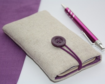 Linen sleeve- cover on the phone, iPhone6 sleeve/iPhone 6 Plus cover /Huawei Ascend case/Nexus,FairPhone,Galaxy,htc One,Moto,Sony Xperia, lg