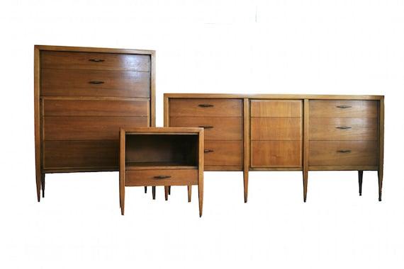 on sale mid century modern bedroom set by century furniture