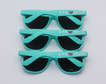 Personalized Sunglasses, Bachelorette Gifts, Bachelorette Party Favors, Girls Weekend, Wedding Favors, Party Favors, Destination Wedding