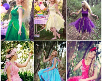 Deluxe Woman's  Fairy Costume ~ Plus Size ~ Theatre ~ Mardi Gras ~ Masquerade ~ Halloween ~ Festival