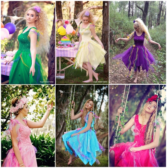 Items similar to Deluxe Adult CARNIVAL Fairy Dress ~ Woman ...