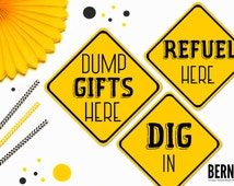 popular items for construction sign on etsy search