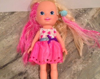 Tyco vintage sparkly pink doll