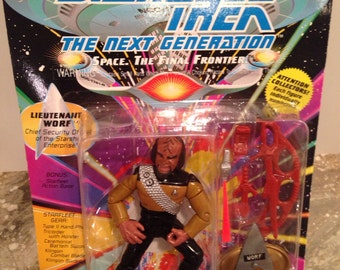 Star Trek The Next Generation Worf Figurine