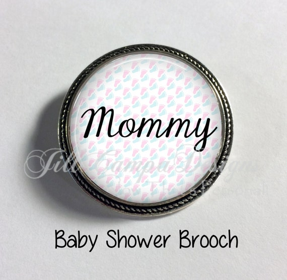 baby shower pin mommy brooch mommy to be baby shower baby