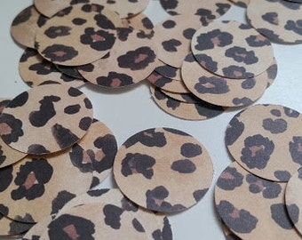Leopard Confetti