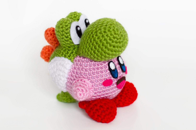 yoshi plush template - crochet yoshi kirby amigurumi kirby 39 s epic yarn and