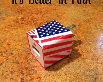USA Flag USB Charger