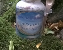 Bedtime Bath Salts Aromatherapy Herbal Remidies, Beauty Spa - Pagan Wiccan Witch Witchcraft Alchemy Magick Spell