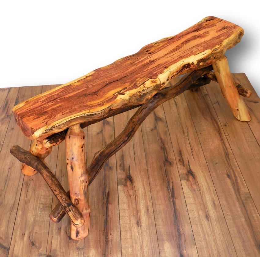 Reclaimed Wood Bench Wood Slab Bench Reclaimed Wood