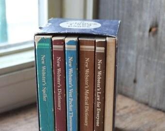 Vintage The New Webster's Desk Reference Library Copyright 1980