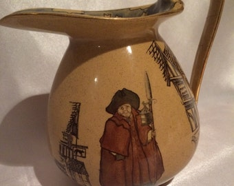 Royal Doulton Pitcher - Night Watchman